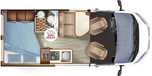 magellan 746 camp r ve fourgons am nag s. Black Bedroom Furniture Sets. Home Design Ideas