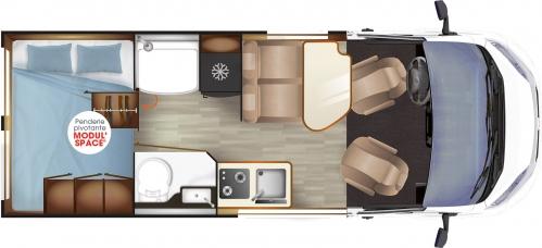 magellan 542 camp r ve fourgons am nag s. Black Bedroom Furniture Sets. Home Design Ideas